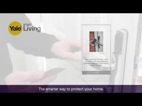 Pairing your smartphone with the Conexis® L1 Smart Door Lock