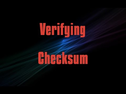 Verifying Download (Checksum/Sha256Sum) | Linux