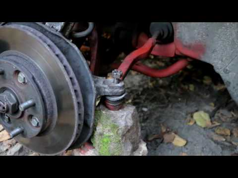 How to fix in place spinning steering rod ball joint