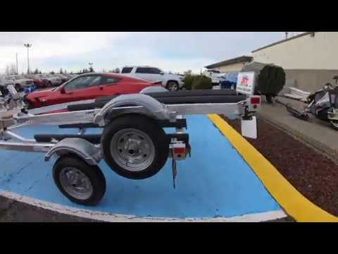 Picking Up My 2018 Triton PWC Trailer