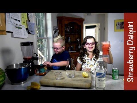 Mocktails: Strawberry Daiquiri (Mocktails4Kids), virgin non-alcoholic