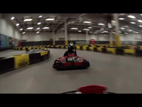 Gocart racing at Pole Position