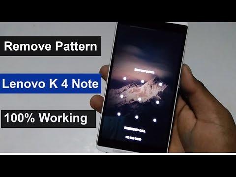 lenovo k4 note unlock pattern & fingerprint scanner