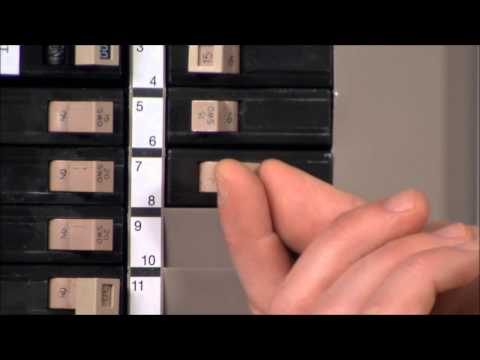 How to Use Your Circuit Breaker Panel - Quick Tips