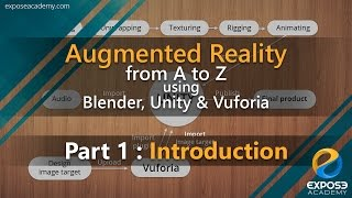 Augmented Reality from A to Z using Blender, Unity and Vuforia | part 1 : introduction