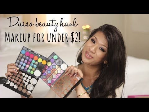 Makeup for Under $2! Daiso Beauty Haul - To Buy or Not?