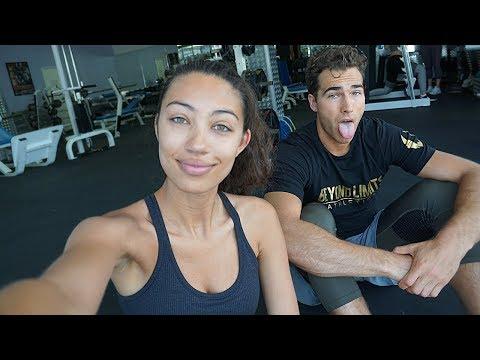 Girlfriend Takes Me Through Her Leg Workout!