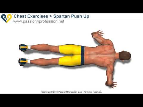 Lose weight : Spartan Push Up exercice
