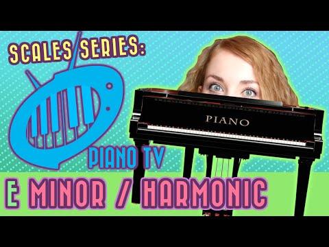 E Natural Minor and Harmonic Minor Scale