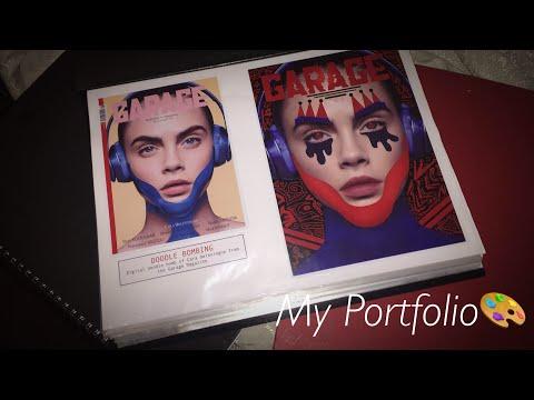 Art and Design / Graphic Design university portfolio 2017-2018 | UK