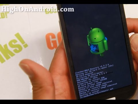 How to Install Custom ROM using ROM Manager App!