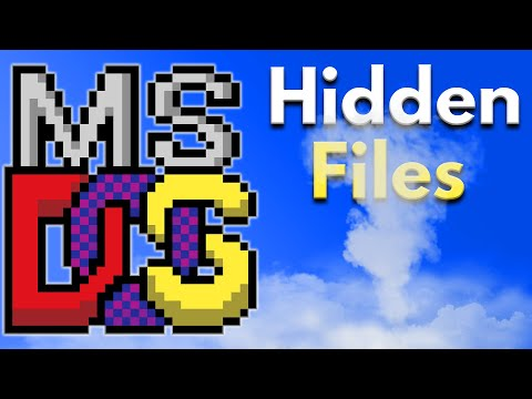 How to Change File Attributes in DOS