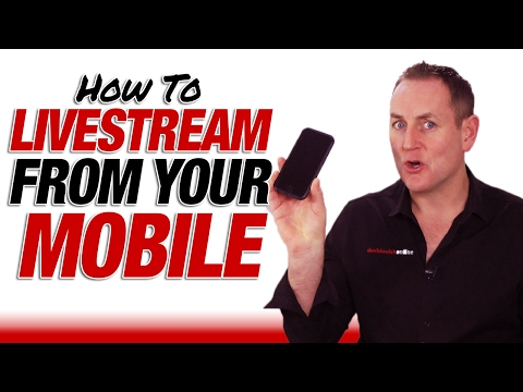 How To Livestream On YouTube From Your Phone - How To Livestream Tutorial