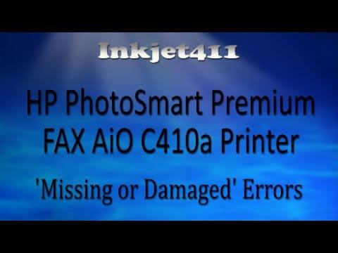 HP PhotoSmart Premium C410a Printer Error Troubleshooting
