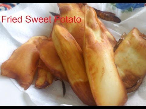 Sweet Potato Fries - The African way (Kadirecipes)