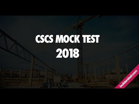 CSCS Mock Test Full 50 Questions 2018