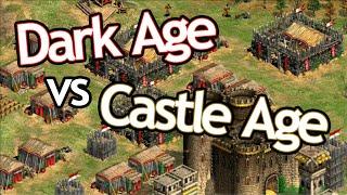 Dark Age... vs Castle Age!?