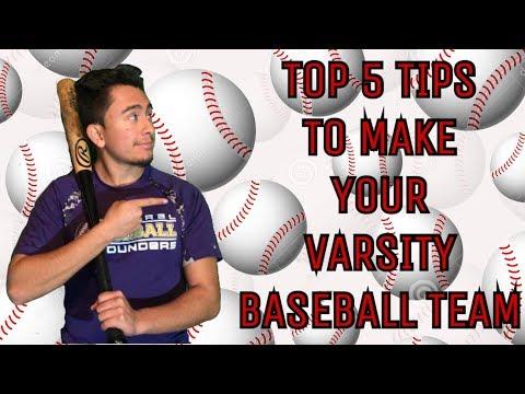 Top 5 Tips To Make Your Varsity Highschool Baseball Team