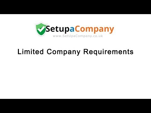 Limited Company Registration Requirements
