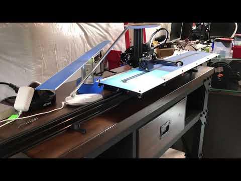 Ender 2 Printer Bed Extension