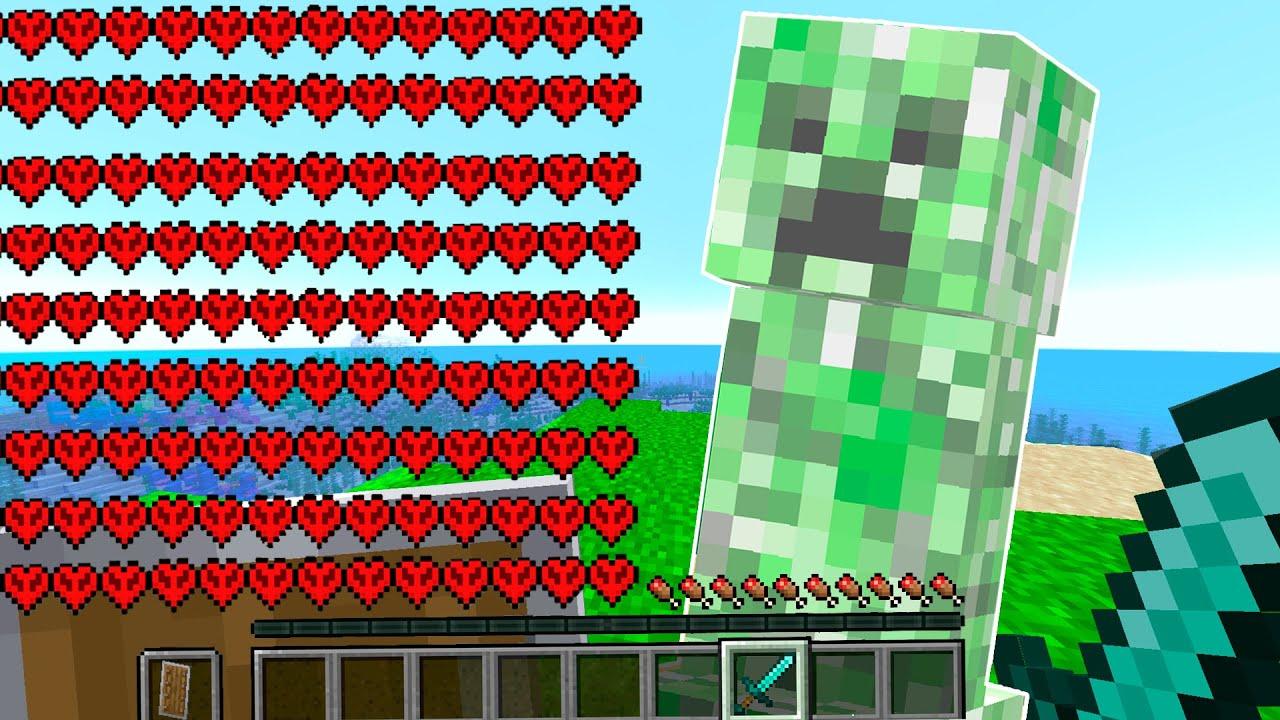 Paso Minecraft pero MI VIDA se DUPLICA cuando EXPLOTA un CREEPER 💥😱 Reto Hardcore #2