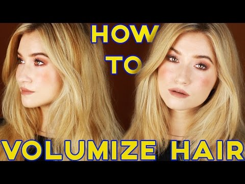 How to: BIG Voluminous Hair WITHOUT Heat or Extentions