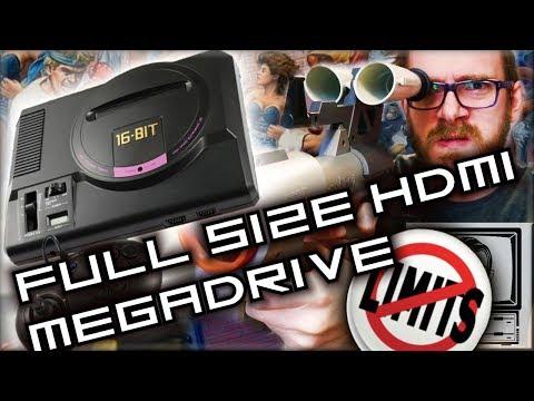 Pushing the HD Genesis Limits - HD Mega Drive | Nostalgia Nerd