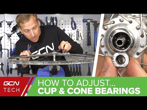 How To Adjust Cup & Cone Wheel Bearings On Your Bike - Maintenance Monday