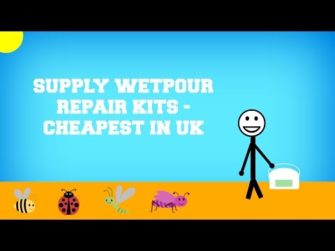 Supply Wetpour Repair Kits - Cheapest in UK