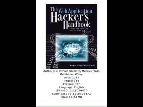 The Web Application Hacker's Handbook, 2nd Edition PDF eBook