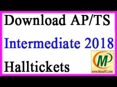 How to Download Intermediate Halltickets 2018 (AP & TS)