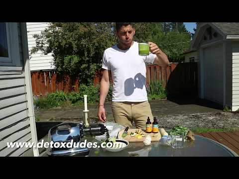 The Ultimate Detox Juicing Recipe (For Mercury Chelation & More Energy!)