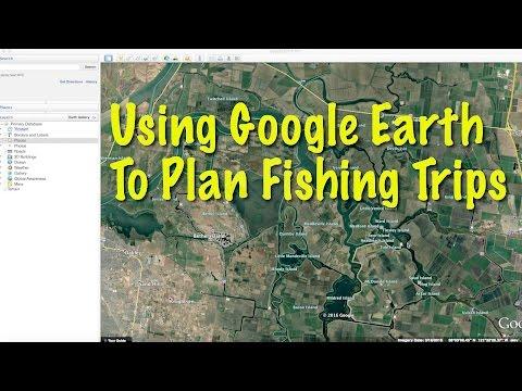 Using Google Earth to Plan Fishing Trips