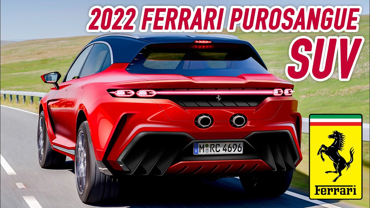 2022 Ferrari Purosangue SUV - Everything you need to know about Ferrari's first-ever SUV