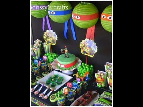 the best ninja turtles party ideas