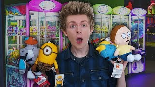 Download Winning SO MANY Prizes from the Claw Machine! Video