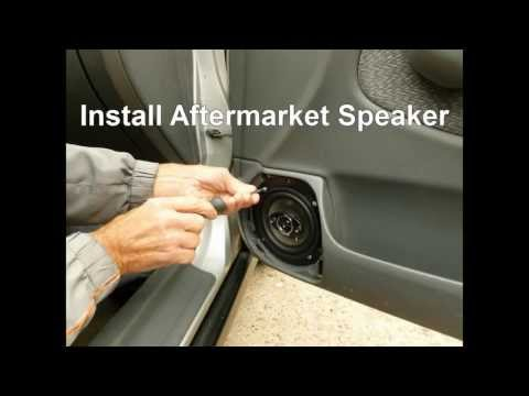 How To Replace Front Door Speakers In A Honda Civic