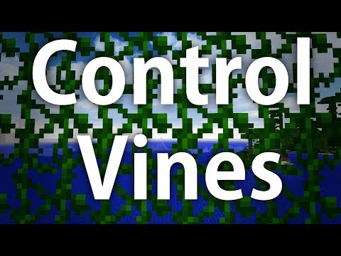 Minecraft | Control Vine Growth on Your Builds