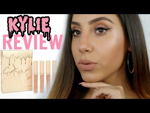 Kylie Cosmetics Send Me Nudes Matte Lipsticks REVIEW / LIP SWATCHES / BOYFRIEND'S OPINION