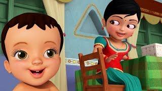 அக்கா தம்பி பாசம் | Tamil Rhymes for Children | Infobells
