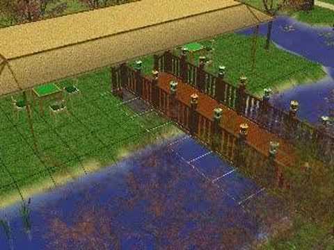 Japanese Tea House (Sims 2)