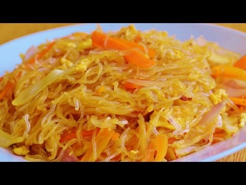 Stir Fry Rice Noodles Recipe