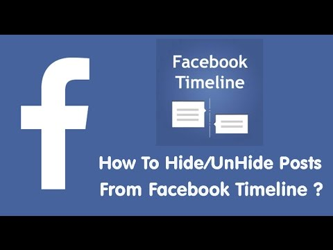How To Hide or UnHide Your Posts From You Facebook Timeline II Keep Your Timeline Clean in Nepali