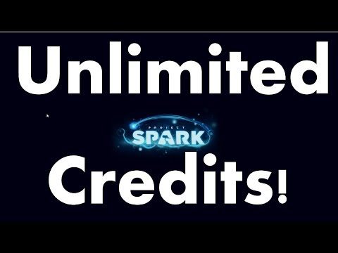 How To Get UNLIMITED CREDITS In Project Spark