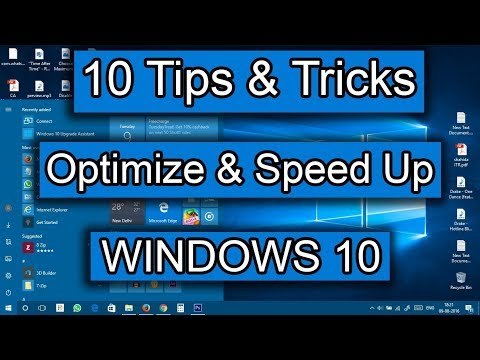 How To Speed up Windows 10 Boot Up TIme And Increase Perforamace