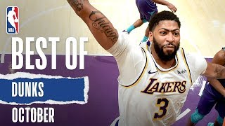 NBA's Best Dunks   October 2019-20 NBA Season