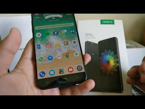 OPPO R9S Unboxing and Quick Review
