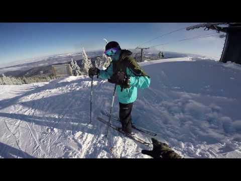 Mt Ashland Skiing - Jan 12, 2017