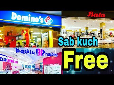 Domino's  pizza and Ice cream  sab kuch free