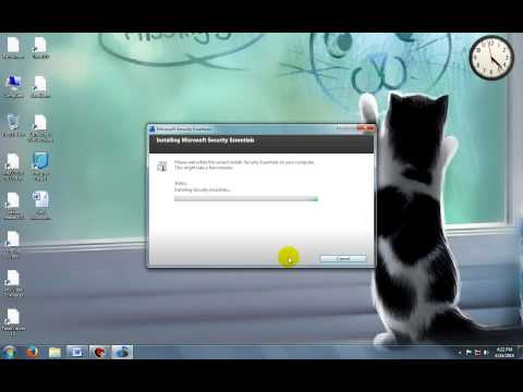 How to update Microsoft essential offline   one time update   microsoft security essential udate pro